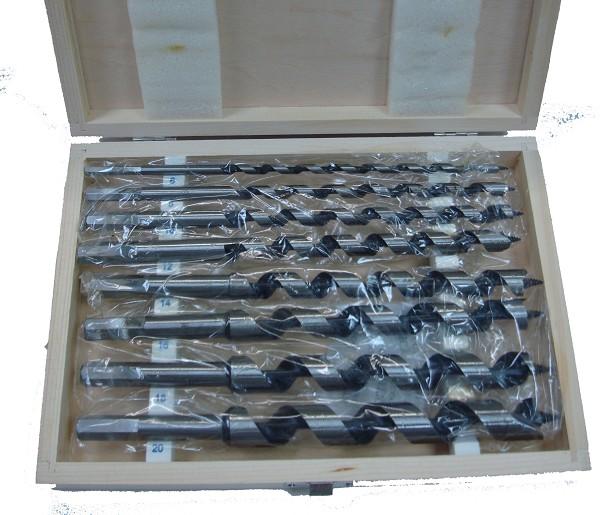 סט 8 מקדחים לעץ 6-20ממ